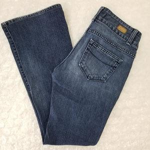 Paige petite Hidden Hills high rise bootcut jeans